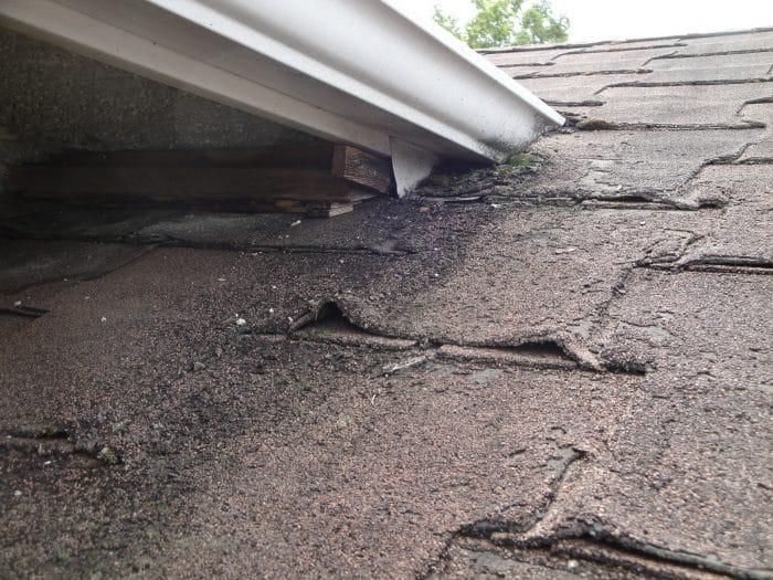 older roof